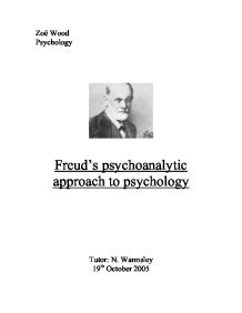 approaches to psychology essay