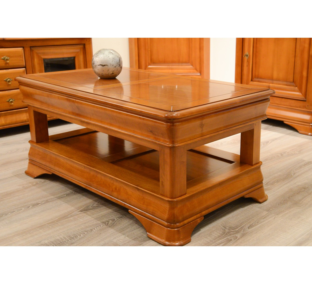 Meuble Tv Louis Philippe Occasion Table Basse Merisier Massif