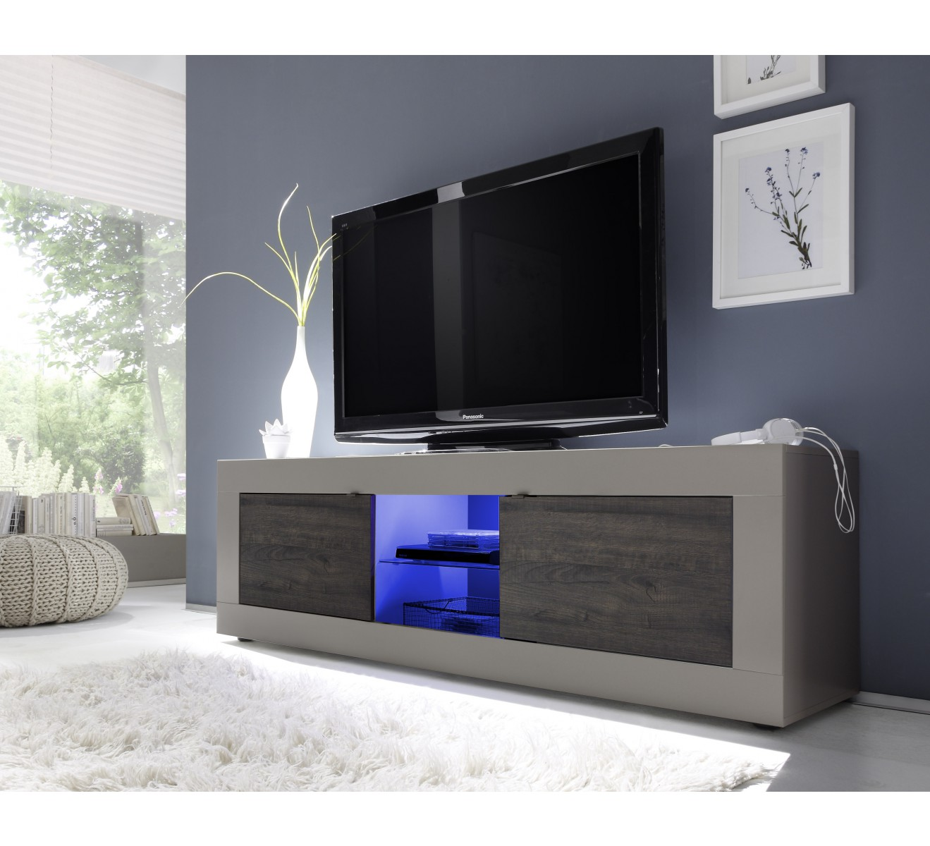 Meuble Living Tv Moderne Grand Meuble Tv Moderne
