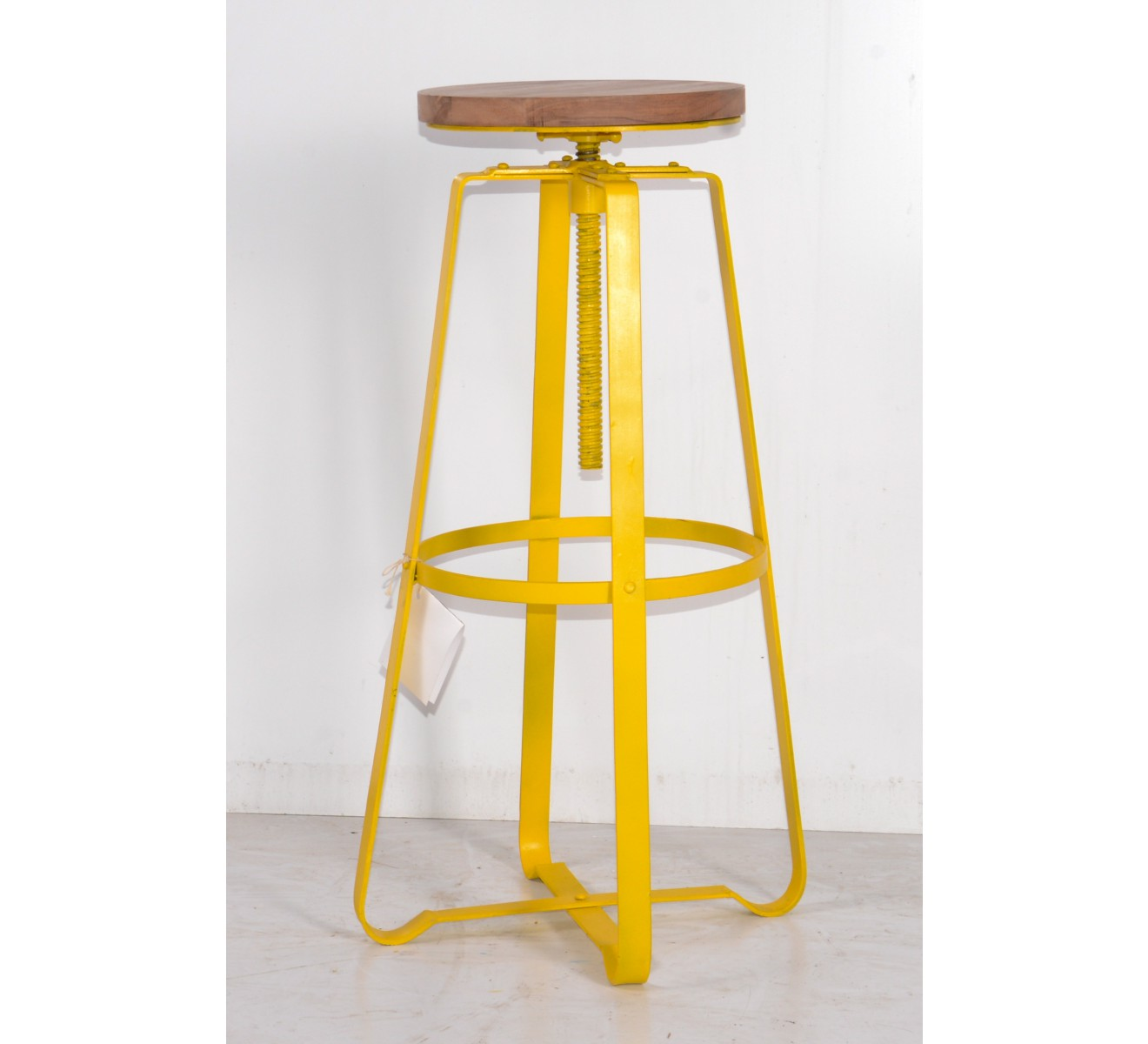 Tabourets De Bar En Metal Tabouret De Bar Pin Massif Fer 6779
