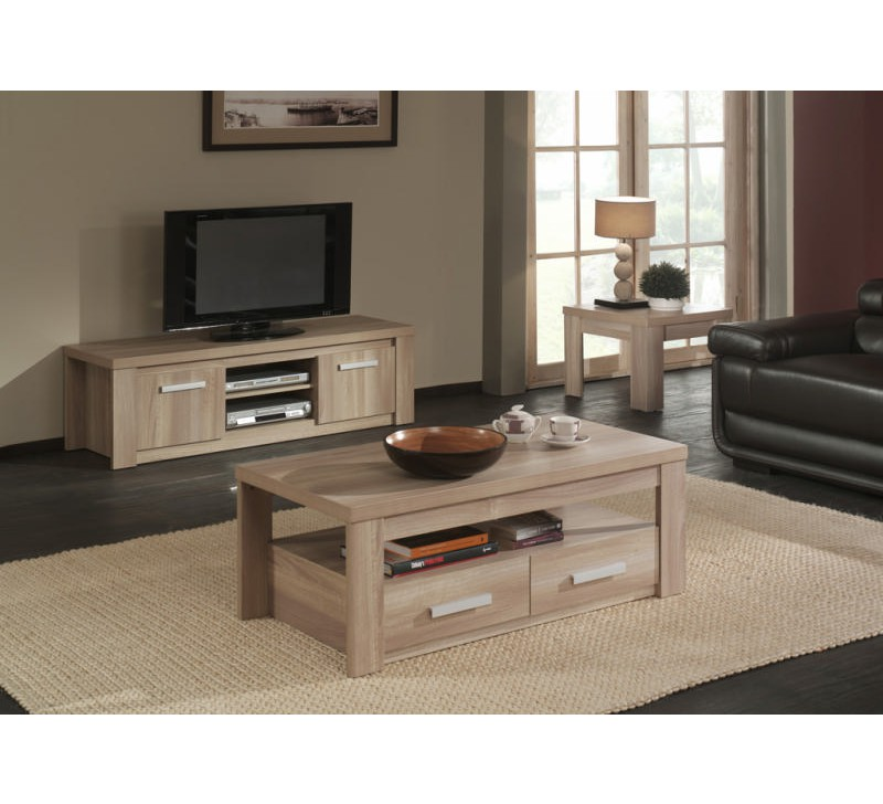 Ensemble Salon Ensemble Salon Meuble Tele Table Basse - 3667
