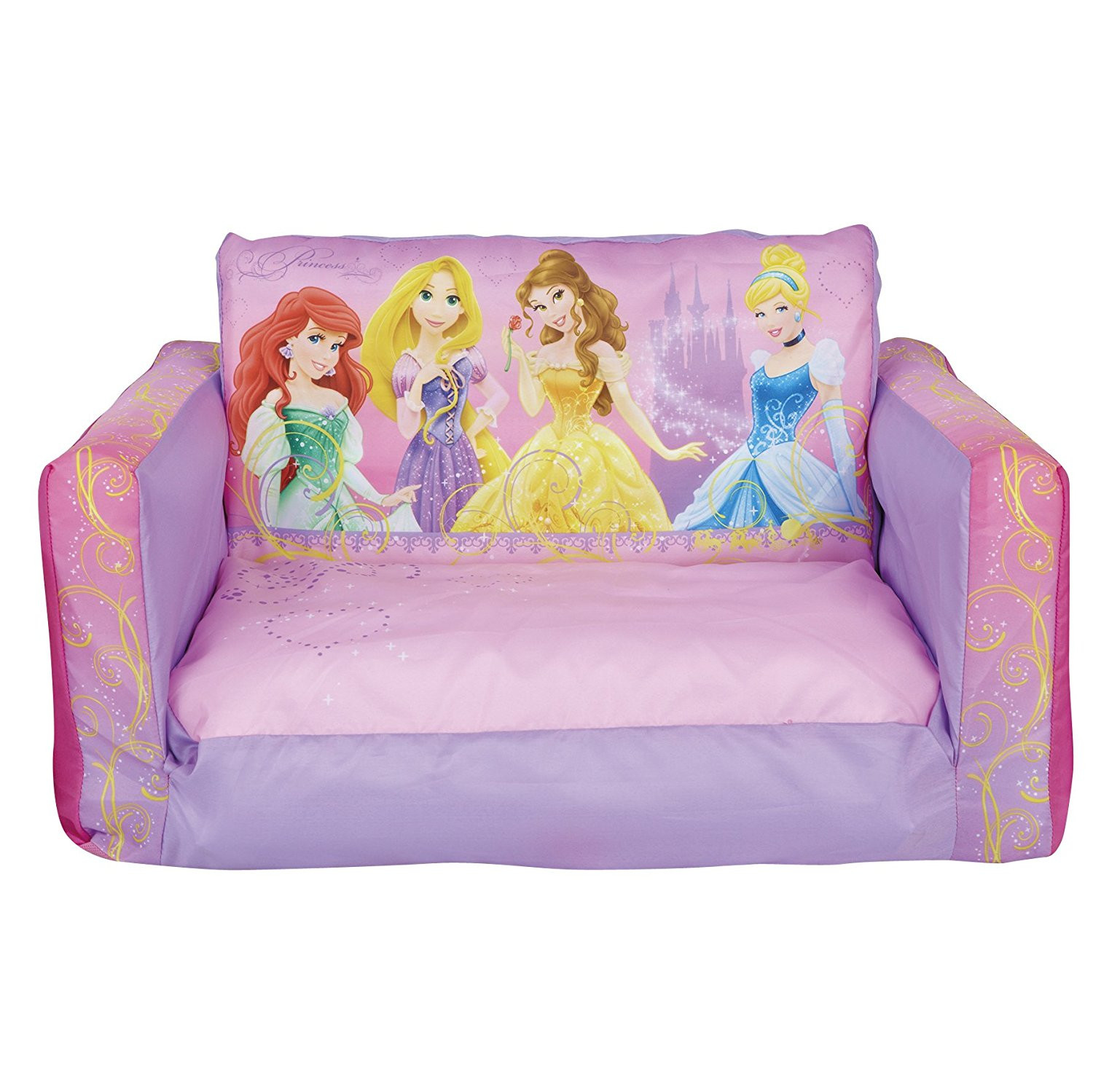 Mini Couch Worlds Apart Disney Princess Flip Out Mini Sofa