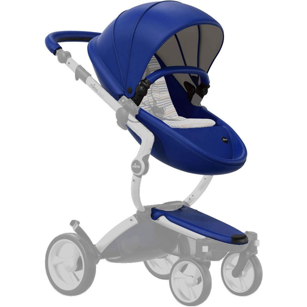 Mima Xari Seat Box 2 Snow-white Mima Seat Box Royal Blue