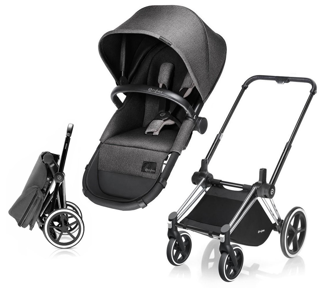 Cybex Stroller Support Cybex Priam Stroller Bundle Frame 2 In 1 Light Seat