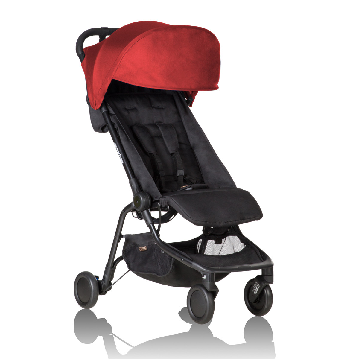 Mountain Buggy Double Kit Mountain Buggy Nano V2 Ruby Red