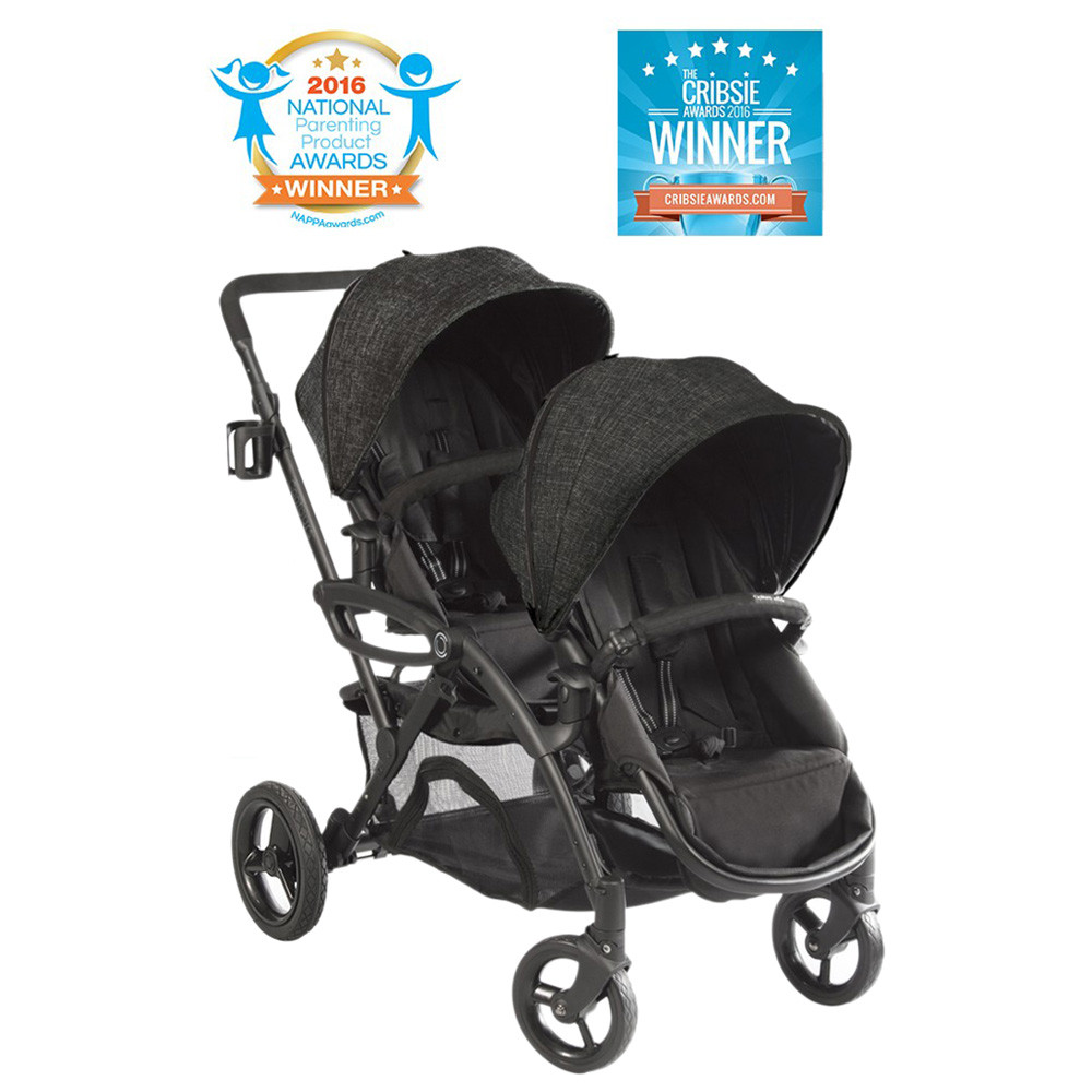 Double Stroller Expensive Contours Options Elite Double Stroller Black