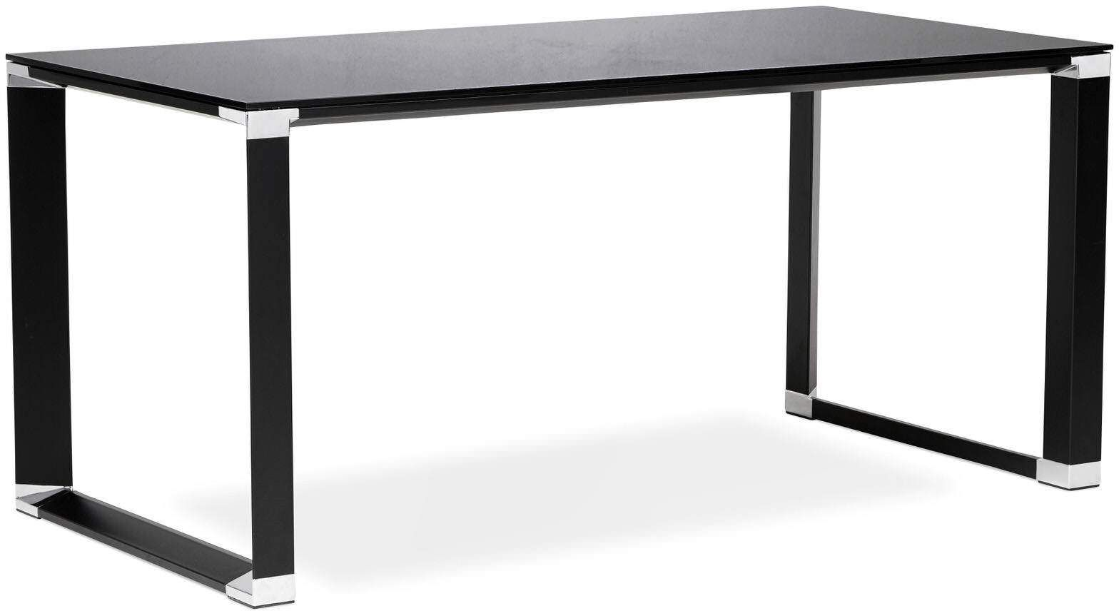 Bureau Verre Noir Bureau Design Warner Kokoon Design à 540 61 Chez Recollection