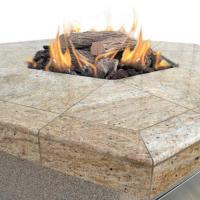Cal Flame Fire Gas Outdoor Hexagon Fire Pit greatgrills.com