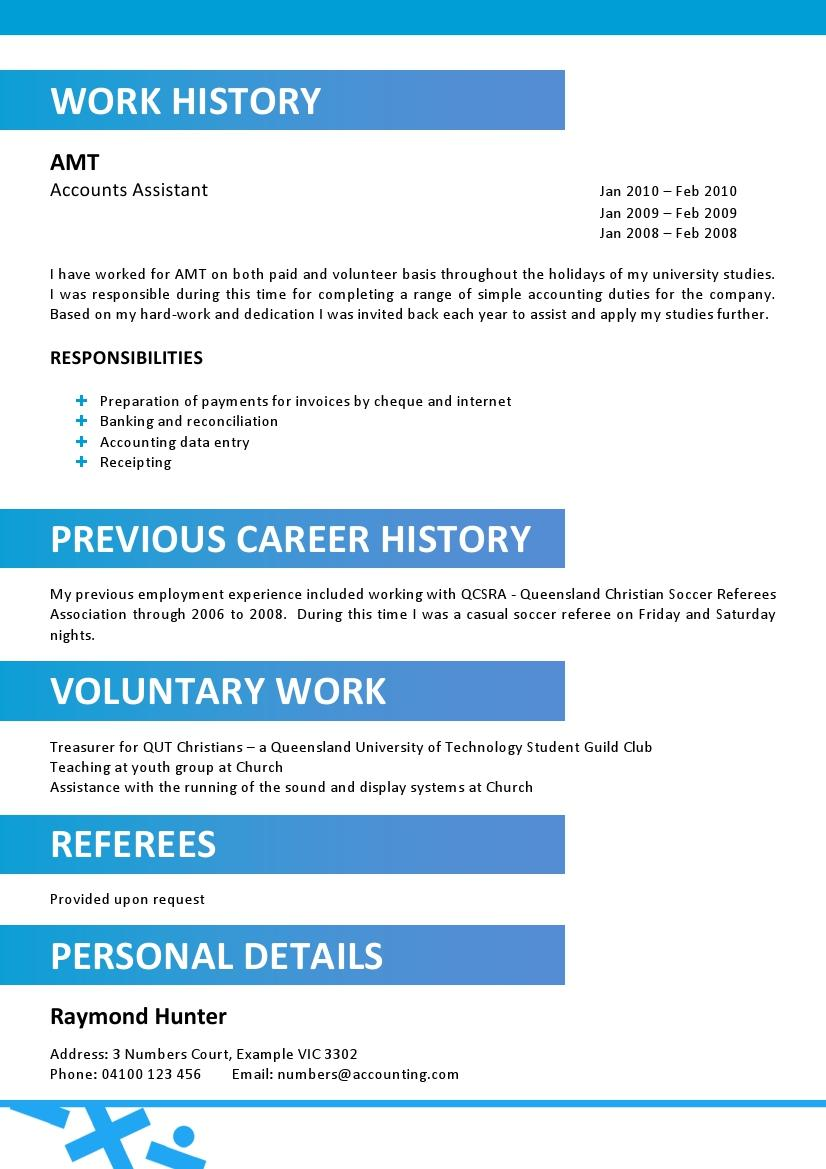 Resume Title Examples Of Resume Titles Pics For Gt; Professional Accounting Resume Template