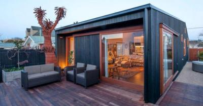 Portable house built to withstand quakes | Stuff.co.nz