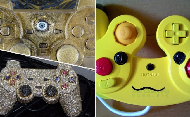 20 Fan Made Controllers That Make No Sense Thethings