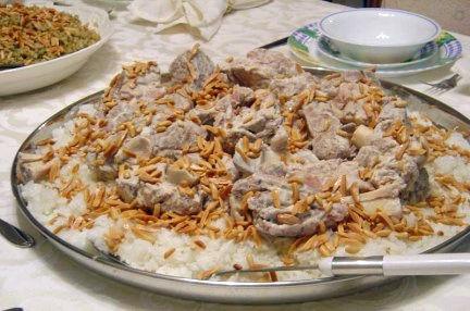Mansaf- Jordan food
