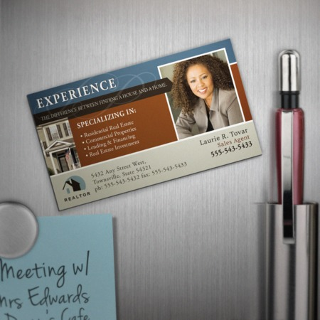 Business Card Magnets - Magnetic Business Cards at UPrinting!