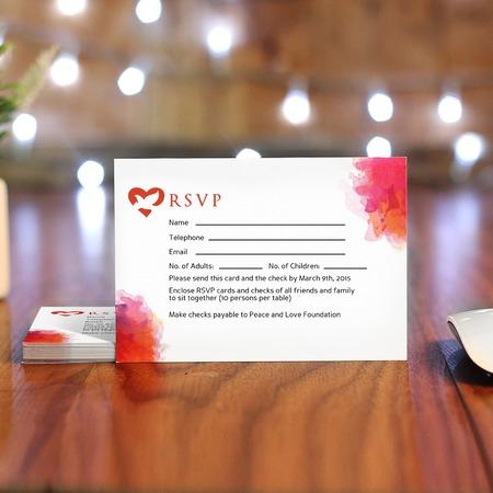 RSVP Cards - Response Cards Printing - UPrinting