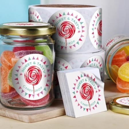 Jar Label Printing - Custom Shapes and Sizes UPrinting