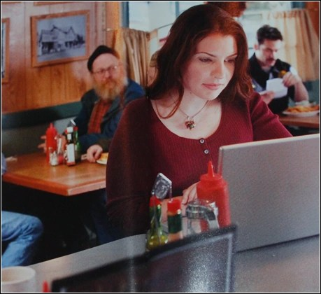 Stephenie Meyer in Twilight , she was actually writing Breaking Dawn