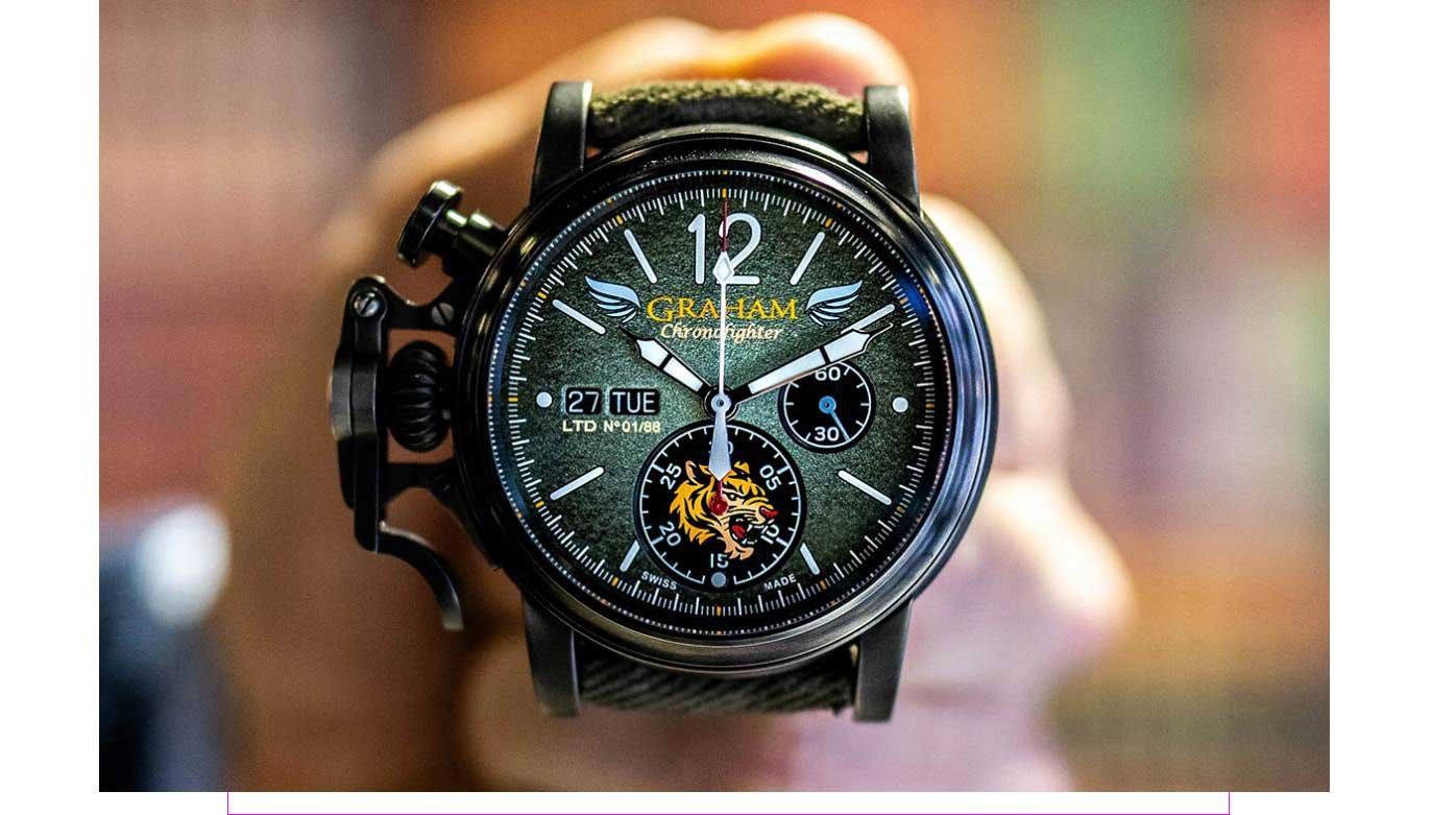 Flying Tiger Graham Chronofighter Flying Tigers Watches Worldtempus
