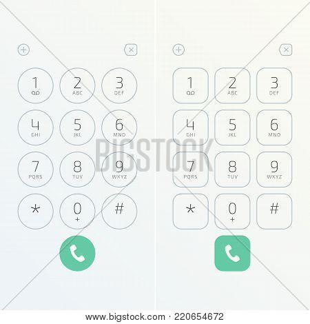 Keypad Numbers Vector  Photo (Free Trial) Bigstock