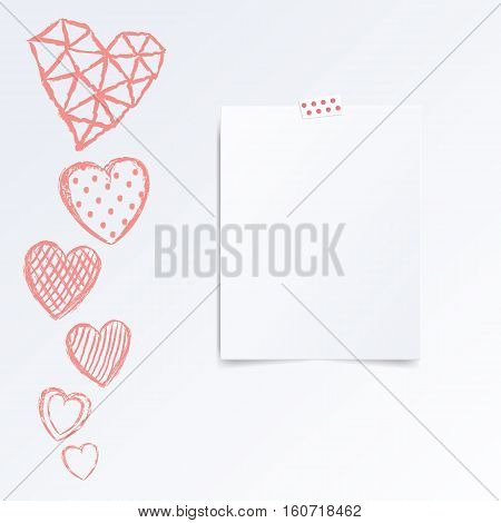 Folded Half Leaflet Vector  Photo (Free Trial) Bigstock