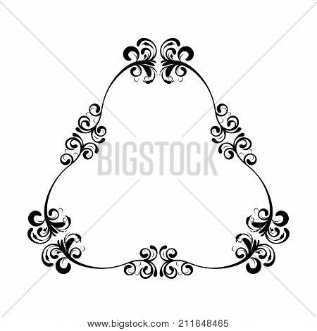 Black Wedding Frame Vector  Photo (Free Trial) Bigstock