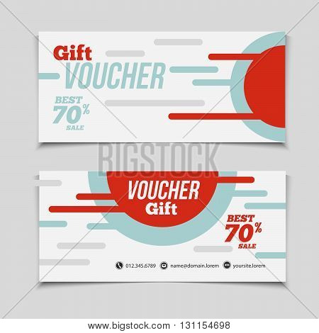 Abstract Gift Voucher Vector  Photo (Free Trial) Bigstock