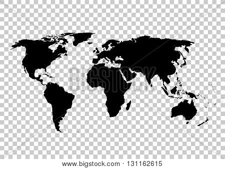 Black Vector Map Vector  Photo (Free Trial) Bigstock