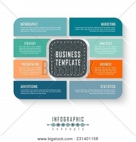 Infographic Timeline Vector  Photo (Free Trial) Bigstock - advertising timeline template