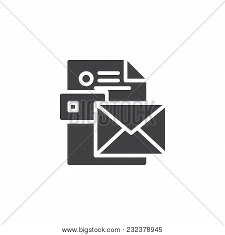 Envelope Cv Resume Vector  Photo (Free Trial) Bigstock
