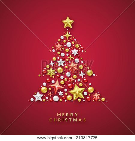 Christmas Tree Vector  Photo (Free Trial) Bigstock