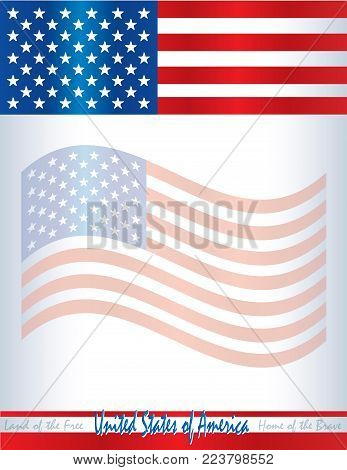 United States America Vector  Photo (Free Trial) Bigstock - America Flag Background
