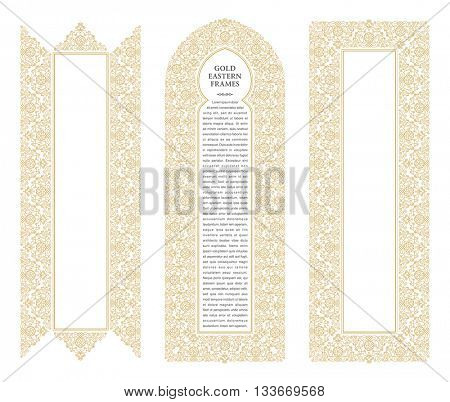 Eastern Gold Frames, Image  Photo (Free Trial) Bigstock