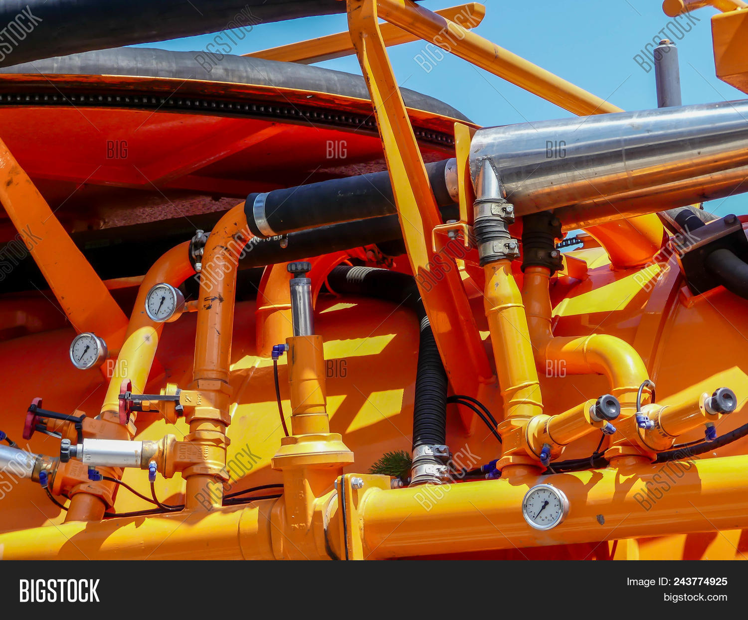 Sewage Cleaner Sewage Cleaner Machine Image Photo Free Trial Bigstock