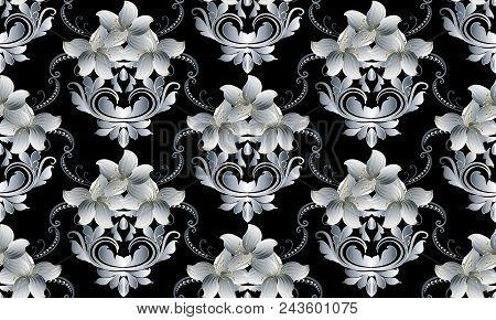Vintage Floral Vector  Photo (Free Trial) Bigstock