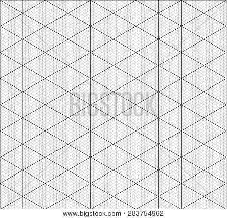 Isometric Graph Paper Vector  Photo (Free Trial) Bigstock