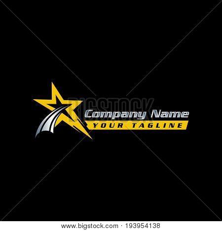 Star Logo - Vector Vector  Photo (Free Trial) Bigstock