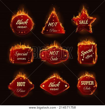 Hot Sale Fire Burning Vector  Photo (Free Trial) Bigstock