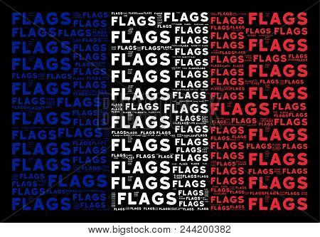 France Republic Flag Vector  Photo (Free Trial) Bigstock - word flag