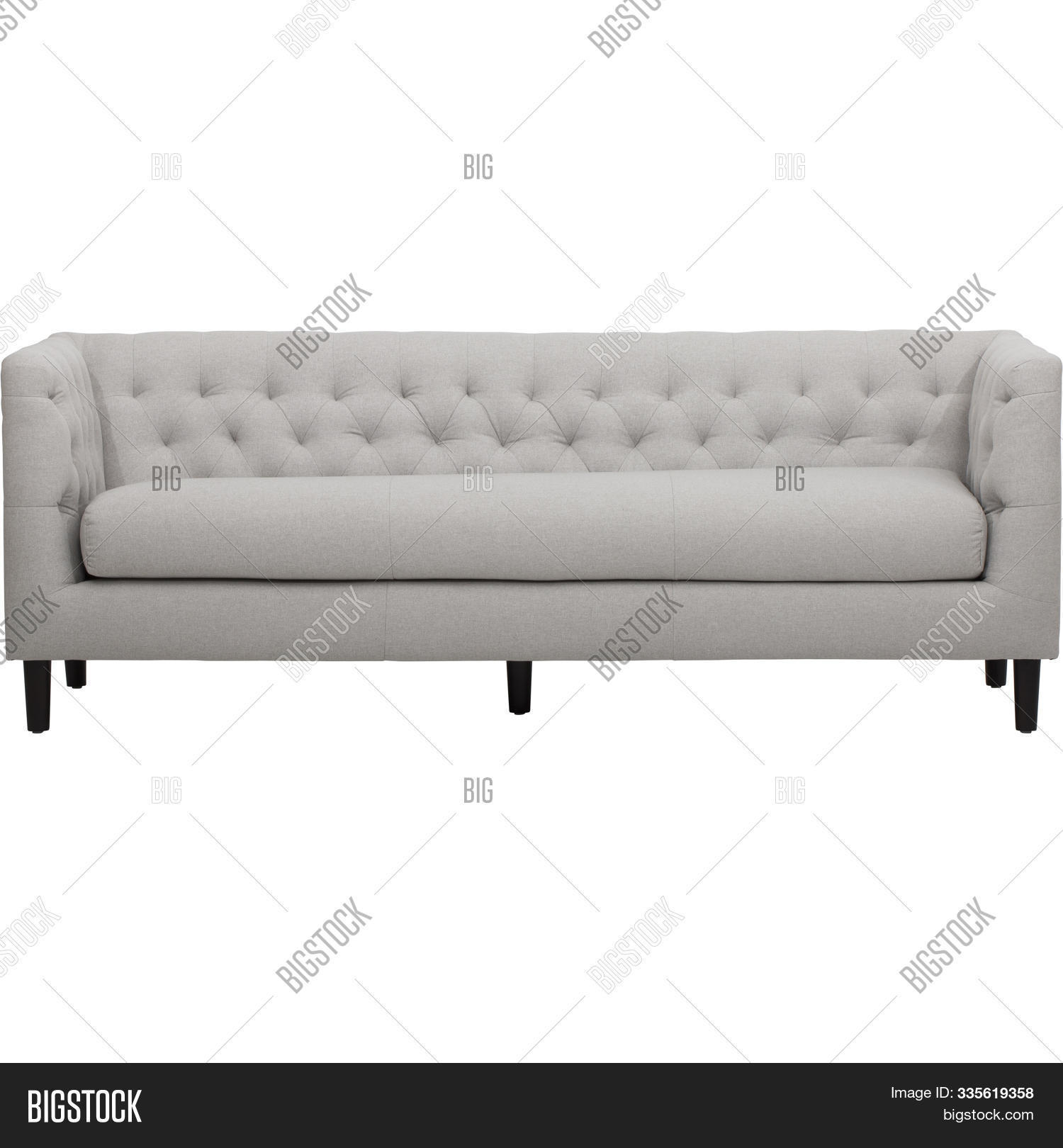 White Two Seater Sofa Image Photo Free Trial Bigstock