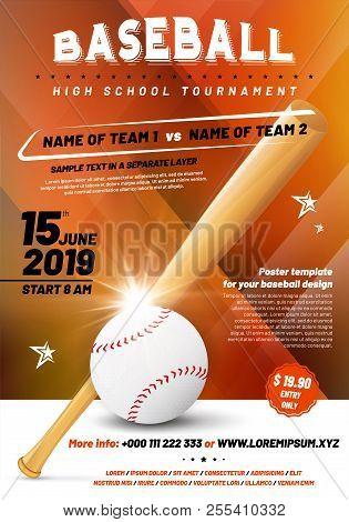 Baseball Tournament Vector  Photo (Free Trial) Bigstock