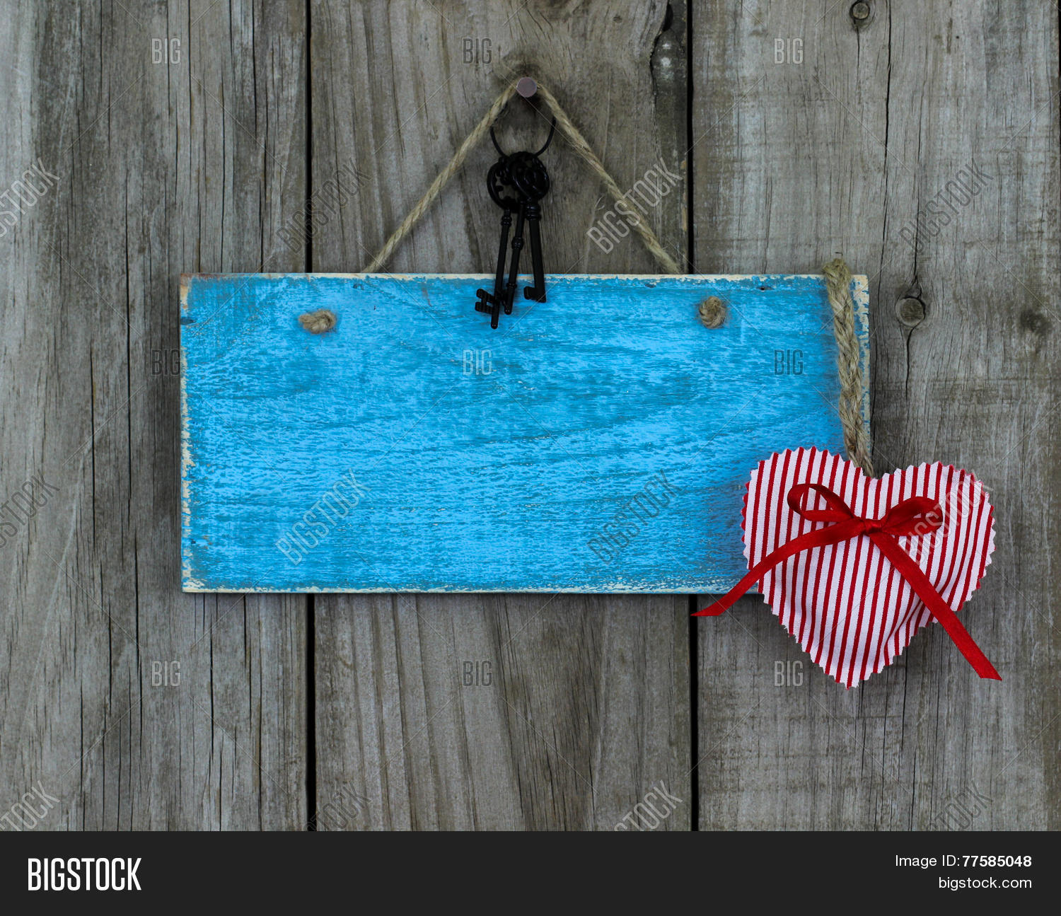 Blank Blue Wood Sign Image Photo Free Trial Bigstock
