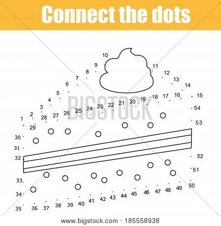 Connect Dots Children Vector  Photo (Free Trial) Bigstock