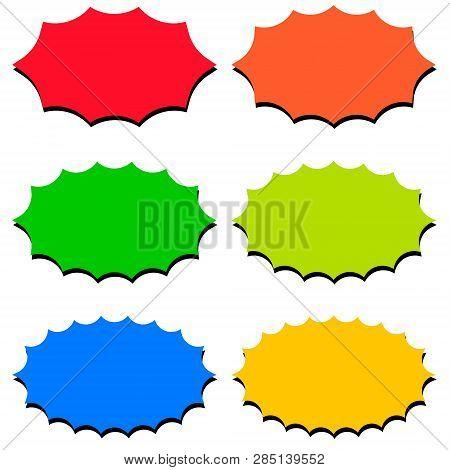 Set Speech Bubble Vector  Photo (Free Trial) Bigstock