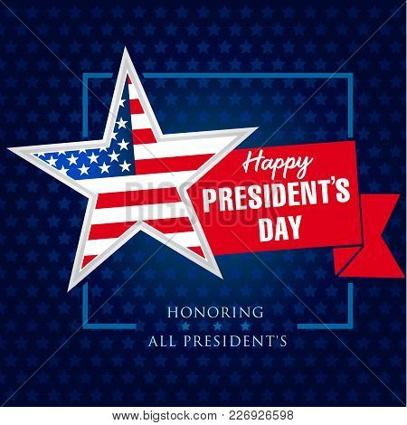 Presidents Day Star Vector  Photo (Free Trial) Bigstock