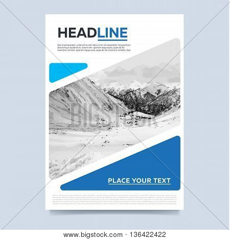 Cover Design Concept Vector  Photo (Free Trial) Bigstock - annual report template design