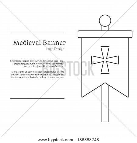 Medieval Banner Vector  Photo (Free Trial) Bigstock