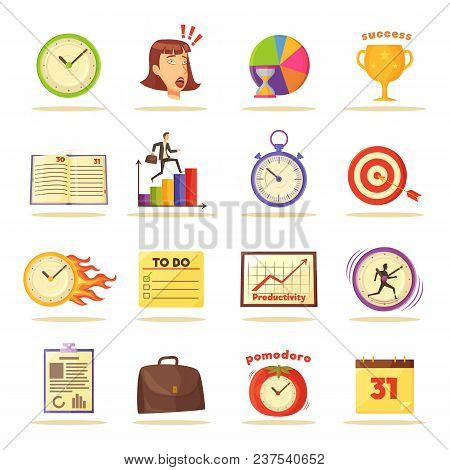 Wall Clocks, Visual Vector  Photo (Free Trial) Bigstock - visual to do list