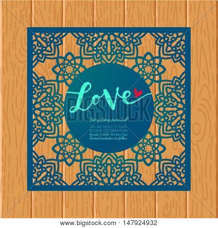 Save Date Cards Vector  Photo (Free Trial) Bigstock