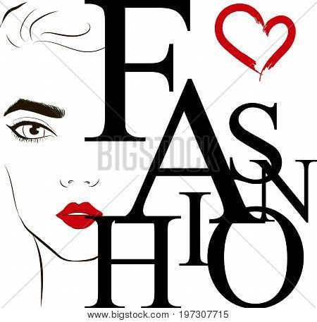 Fashion Label Face Vector  Photo (Free Trial) Bigstock