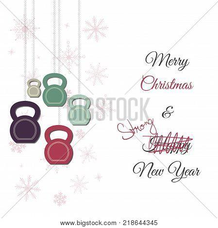 Vector Christmas New Year Greeting Vector  Photo Bigstock
