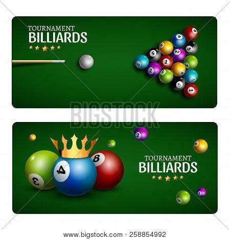 Billiard Club Game Vector  Photo (Free Trial) Bigstock